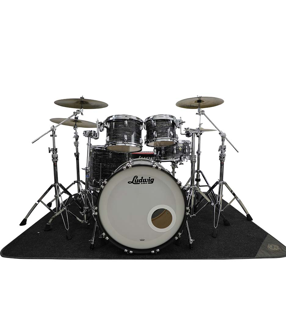 Ludwig Legacy Maple Vintage Black Oyster 5pc Drumkit