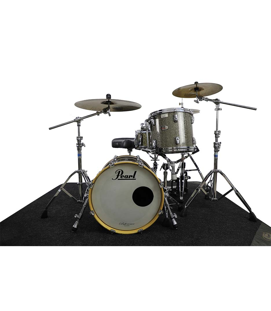 Pearl Reference Pewters Glass 3pc Drumkit