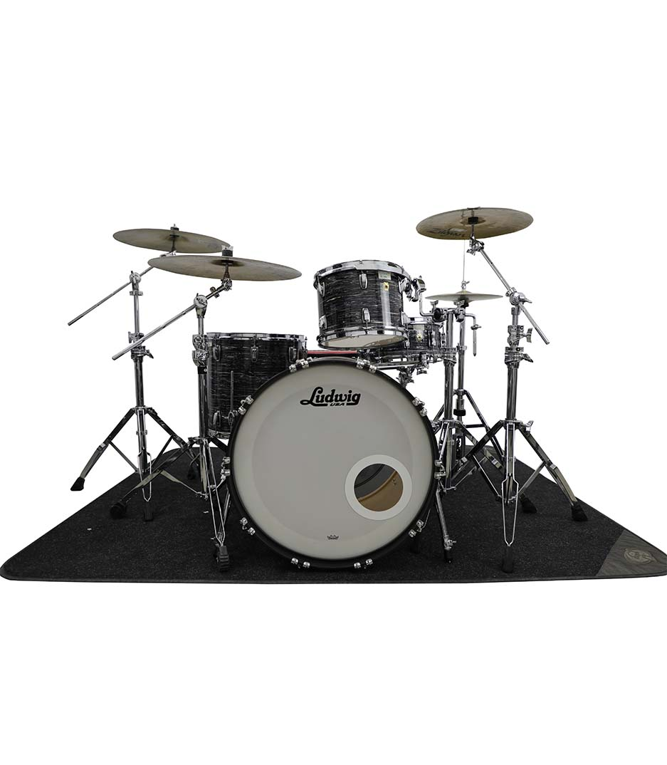 Ludwig Legacy Maple Vintage Black Oyster 4pc Drumkit