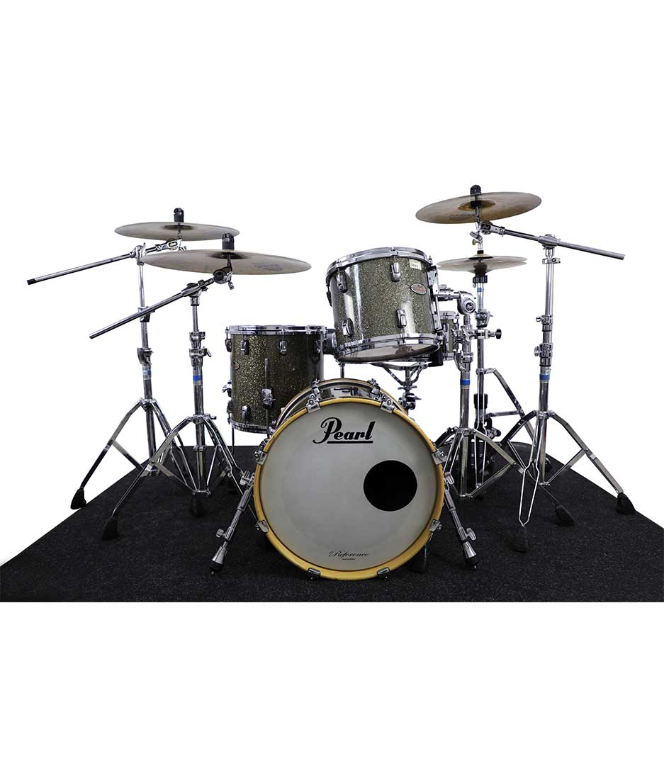 Pearl Reference Pewters Glass 4pc Drumkit