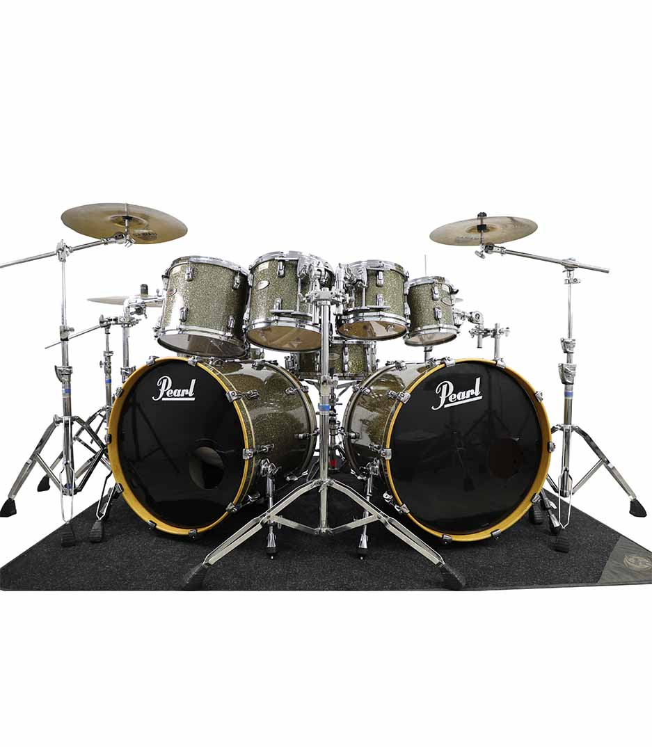 Pearl Reference Pewters Glass 8pc Drumkit